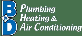 B & D Plumbing, Heating & A/C logo